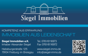 Siegel Immobilien in Freiburg